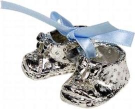 Pewter Schoentjes Blauw