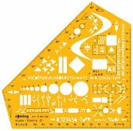 Rotring sjabloon Studio Elektro