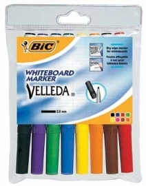 Bic whiteboardmarker Velleda 1741 8-Pack