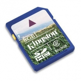 SD HC Card Kingston 8GB