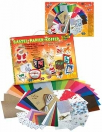 Folia knutselpapierkoffer Kerstmis