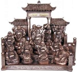 Mini Lucky Buddha Display Vol