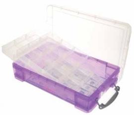 Really Useful boxes gekleurde transparante opbergd