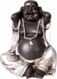 Hear No Evil Resin Buddha