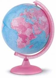 Wereldbol Pink