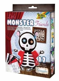 Folia knutselset Monster Friends Scraggles