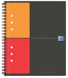 Oxford schrift International Activebook A4 geruit 5mm
