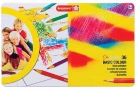 Bruynzeel Kleurpotlood Basic Colour 12