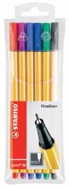 Stabilo fineliner Point 88 6-Pack