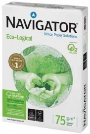 Navigator wit papier Eco-Logical A3 75 g/m²