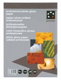 5Star™ Prof. Photo Gloss Inkjet Paper Premier A4 265 g/m²