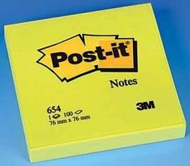 Post-it® Effen Notes 654M