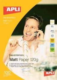 Apli Matt Inkjet Paper Photo Quality A4 120 g/m²