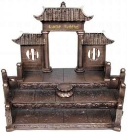 Mini Lucky Buddha Display
