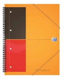 Oxford schrift International Meetingbook A4 geruit 5mm