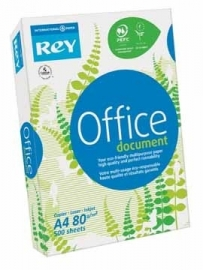 Rey wit papier Office Document A4 80 g/m²