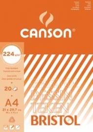 Canson tekenblok Bristol A4