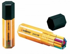 Stabilo fineliner Point 88 Big Point Box