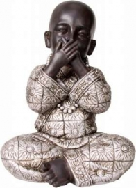 Speak No Evil Resin Buddha (Kind)