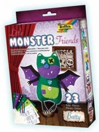 Folia knutselset Monster Friends Batty
