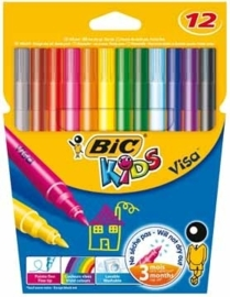 Bic Kids viltstift Visa 12