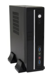 LC Power 1350MI mini ITX pc behuizing incl. 75W voeding