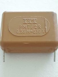 ITT 560NF 630v P MT/2R condensator 28mm steek