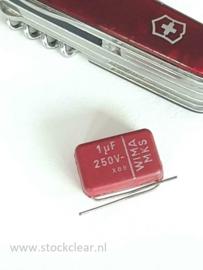 Wima 1uf 250v MKS