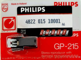 Philips GP-215, GP-214 Stereo reproducer with diamond microgroove stylus