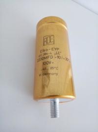 ROE GOLD EYP 2200uf 100v HI-END AUDIO CAP ELCO