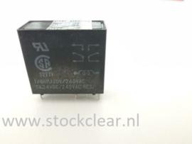 Potter & Brumfield 5VDC 2x wissel 5A 240VAC printrelais