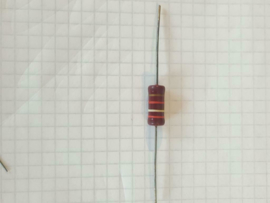 Vintage Carbon weerstand 2K9 Ohm 2watt