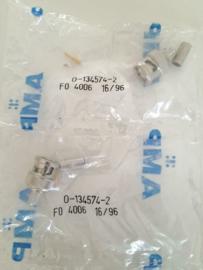 AMP BNC 0-134574-2 krimp connector RG58