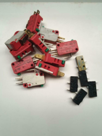 Microswitch assortiment 15x Cherry, Miltac