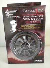 Zalman FATAL1TY FC-ZV9 DUAL HEATPIPE VGA COOLER
