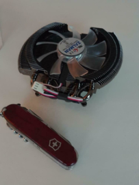 Zalman VF2000 CPU /GPU  Cooler, HD7850