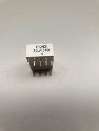 TFK TDSR5160 H LED digit 7 segment display rood (98x)