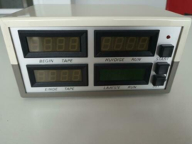 Projectbehuizing met 16 LED digits display