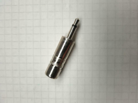3,5mm jackplug mono metale uitvoering