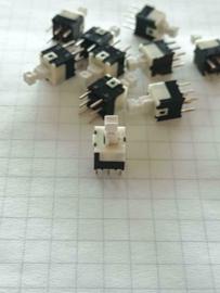 10x mini aan/uit schakelaar printmontage