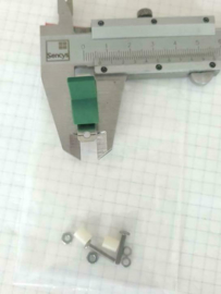 C&K U15 drukschakelaar 2A 250AC