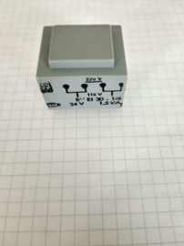 Print transformer 220V / 110V 24V 1,5VA