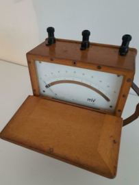 Authentic Vintage millivoltmeter