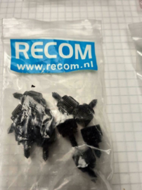 Recom Tumb Screws 10 stuks black
