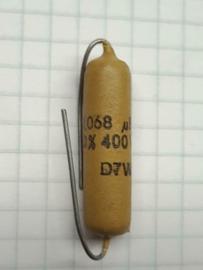 Mustard  0,068uf 400v  68nf