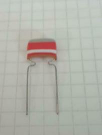 Mullard 8,2nf 8200pf vlag tropical condensator 10mm