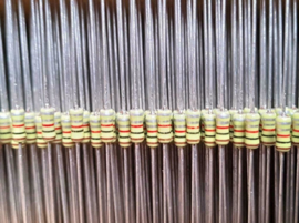 Philips 1nf 63v keramische condensator axiaal