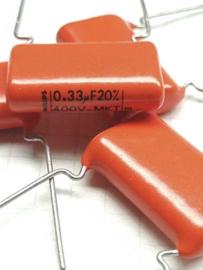 Philips MKT druppel 0,33uf 400v condensator