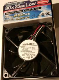 Minebea 80x25 1400 rpm 3110KL-04W-B19 Silent fan