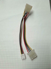 Molex - FDD floppy voedingsadapter